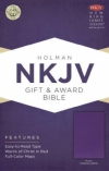 Productafbeelding Gift & award Bible NKJV (purple)